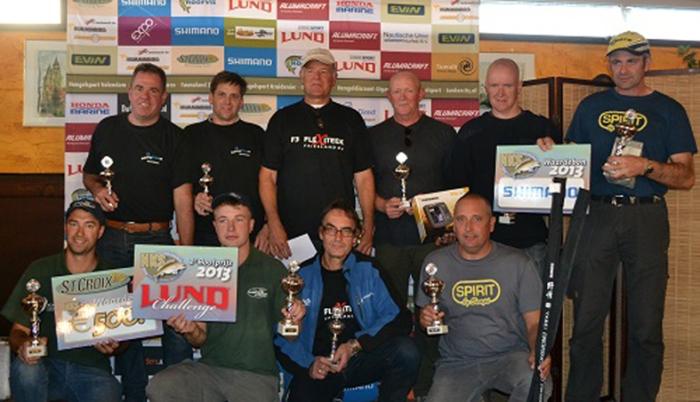 NKS Lund challenge 2013 Chris Boxberger + Peter Engelen (tee-shirt Spirit) parmis tous les lauréats